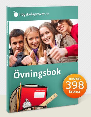 övningsbok högskoleprovet